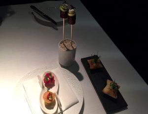 Rote Beete, Kaviar und Maultäschen